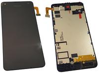 Microsoft Lumia 550 Передня панель з дисплеєм і сенсорним екраном, original (PN:00814D6)