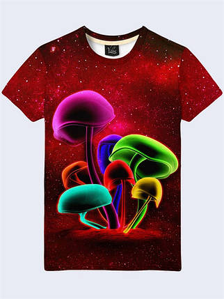 Футболка Цветные грибы, фото 2