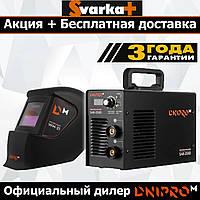 Сварочный инвертор Dnipro-M SAB-258D + Хамелеон Dnipro-M WM-31.