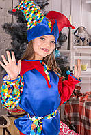 Маскарадный детский костюм скомороха от 3 до 8лет