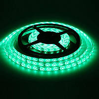 Светодиодная LED лента   3528 Green 60RW, дюралайт 5 метров