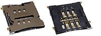 Роз'єм для SIM LG D802 G2, original (PN:EAG63452601)