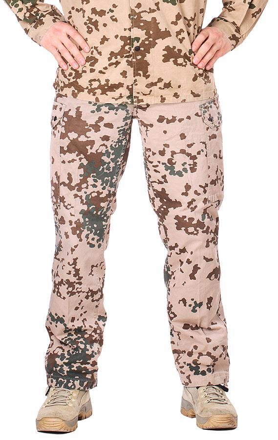 Оригинальные брюки Бундесвер в расцветке тропентарн ВЫСШИЙ СОРТ