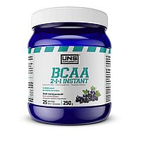 Аминокислоты UNS BCAA 2:1:1 Instant 250 g Черная смородина УНС ВСАА
