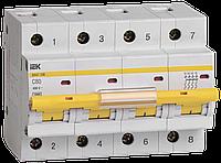 Выключатель автоматический ВА47-100 4Р 80А 10кА С IEK, фото 1