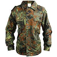 Оригинальная рубашка китель армии Бундесвера в расцветке флектарн