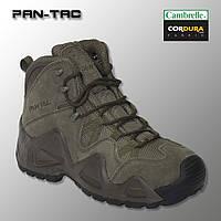 """🔥 Демисезонные тактические ботинки """"Pan-Tac - 5 дюймовые"""" (олива) берцы военные, трекинговые"""
