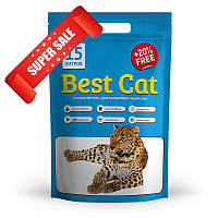 Силикагелевый наполнитель для кошачьего туалета Best Cat Blue 15 л
