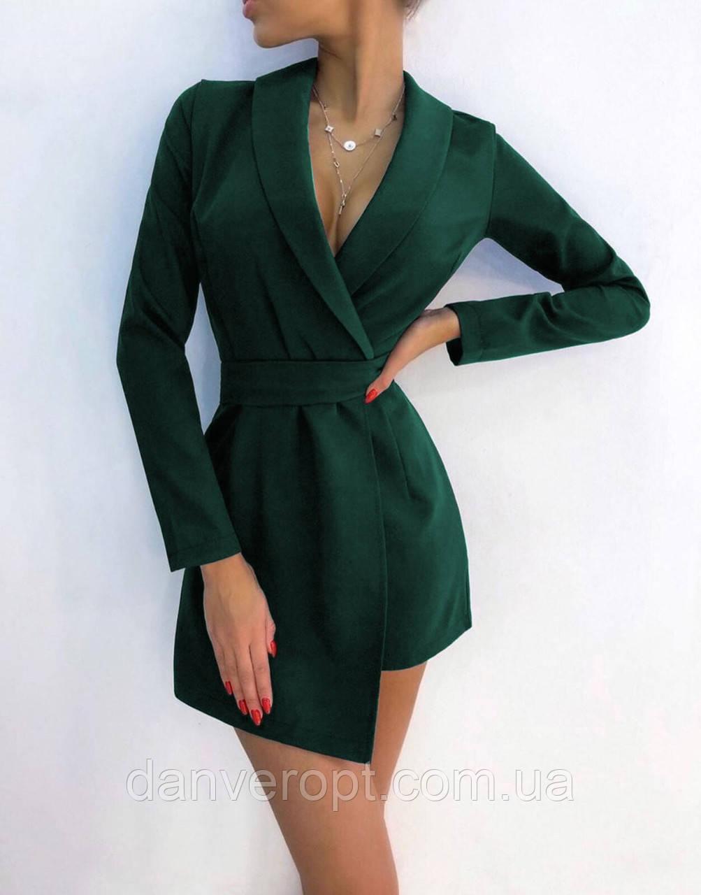 Платье женское модное стильное на запах размер 42-46 купить оптом со склада 7км Одесса