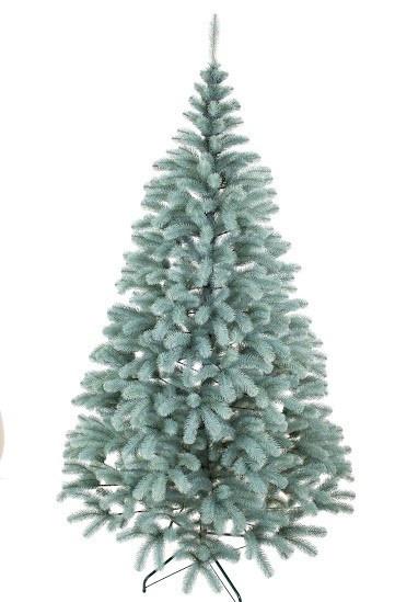 Ель высотой 210 см искуственная Президентская Голубая Новогодняя   высокого качества ,материал иголок не горит