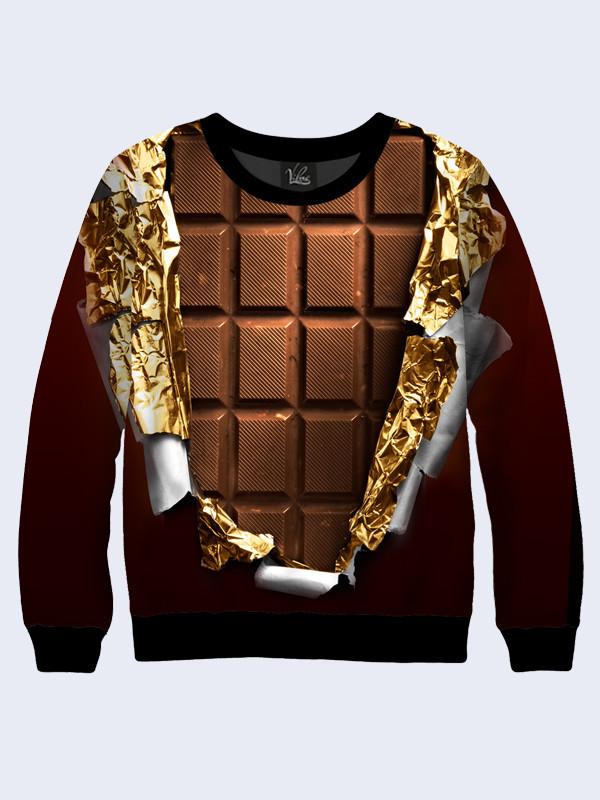 Свитшот Плитка шоколада