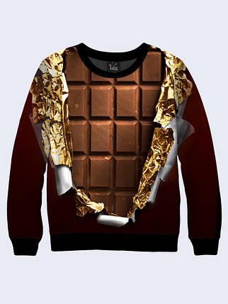 Свитшот Плитка шоколада, фото 2
