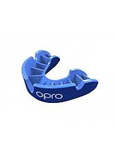 Капа OPRO Silver синяя Для взрослых