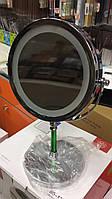 Зеркало с подсветкой на подставке, фото 1