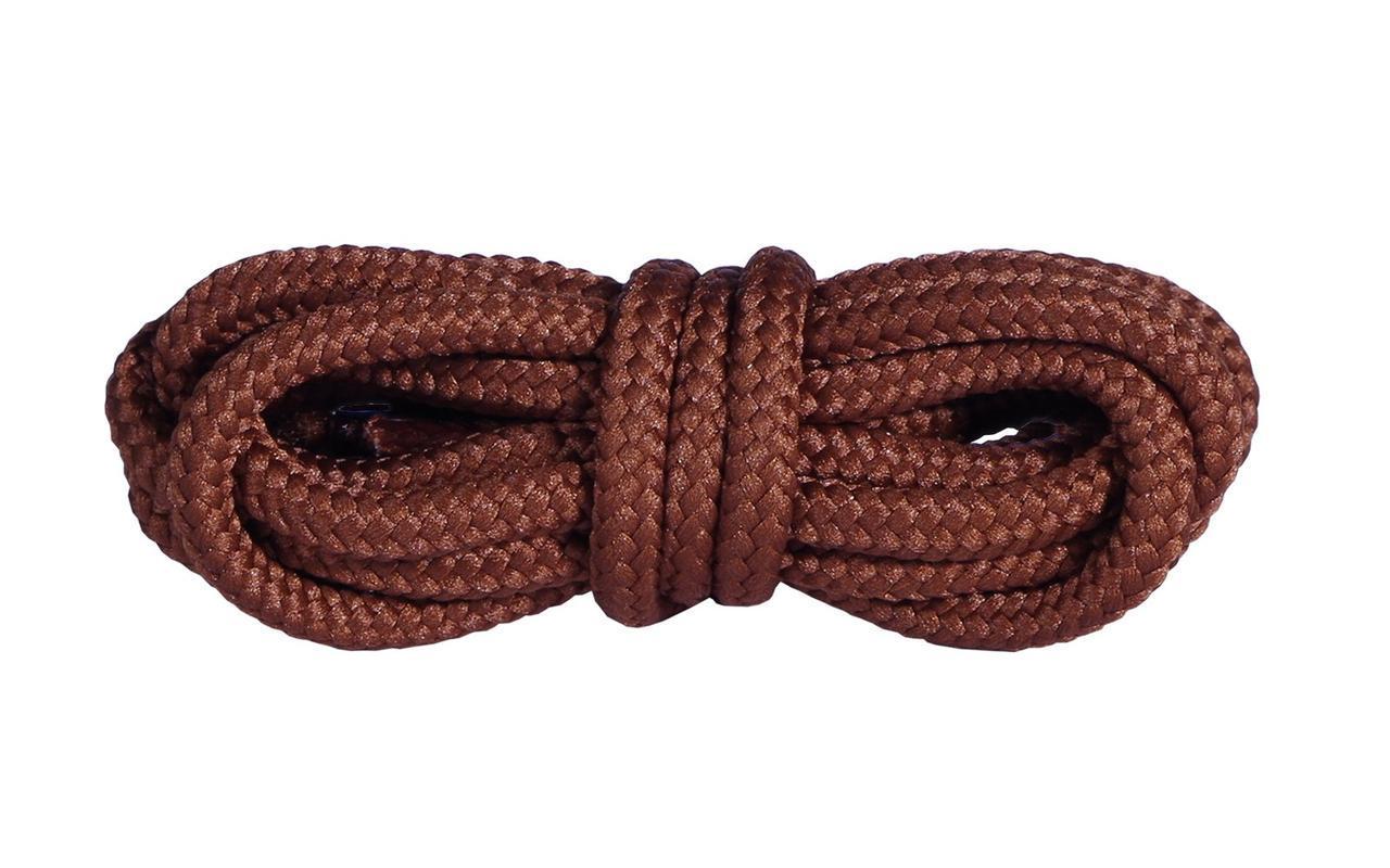 Шнурки для обуви Mountval Laces 120 см, цвета в ассортименте Коричневый