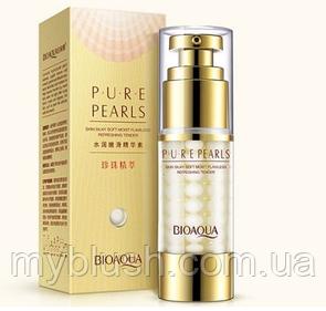 Эмульсия для лица с жемчужной пудрой Bioaqua Pure Pearls 35 g