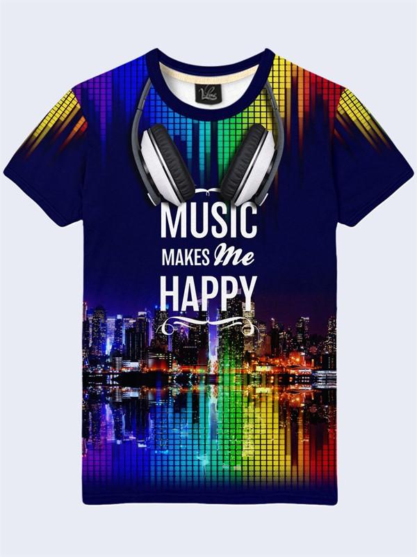 Футболка Music night city