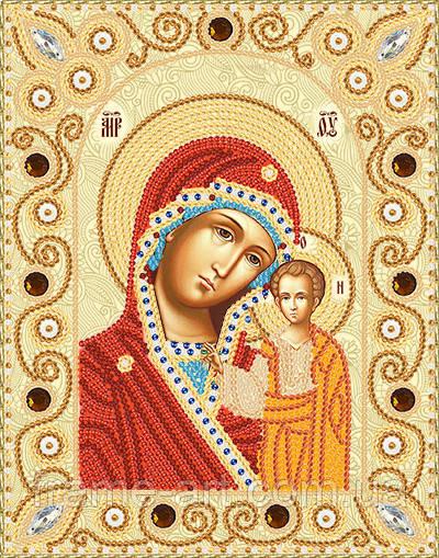 Марічка НІК-5302 Богородиця Казанська, набір для вишивання бісером