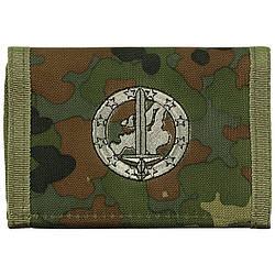 Гаманець «Бундесвер» флектарн з емблемою «німецько-голландський корпус» MFH