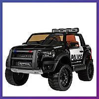 Детский электромобиль c пультом Bambi M 4173 EBLR-2 Ford полиция | Дитячий електромобіль Бембі поліція