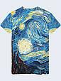 Футболка Mona Lisa and Van Gogh, фото 2