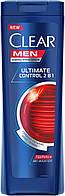 Шампунь-бальзам Clear против перхоти для мужчин Ultimate Control 400 мл арт.0487
