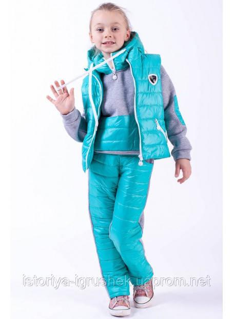 Новинка! Детский костюм-тройка для девочки и мальчика