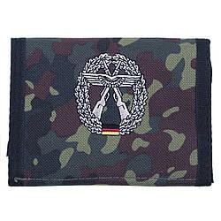 Гаманець «Бундесвер» флектарн з емблемою «охорона об'єктів ВВС Люфтваффе» MFH