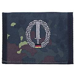 Гаманець «Бундесвер» флектарн з емблемою «командування спеціальних сил» MFH