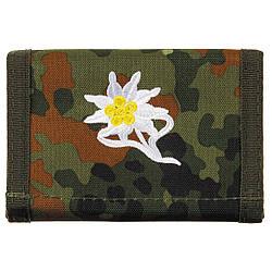 Бумажник «Бундесвер» флектарн с эмблемой эдельвейс «горные стрелки» MFH