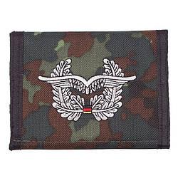 Гаманець «Бундесвер» флектарн з емблемою «військово-повітряні сили» MFH