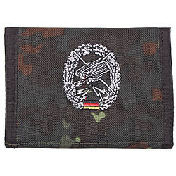 Гаманець «Бундесвер» флектарн з емблемою «підрозділу дальньої розвідки» MFH