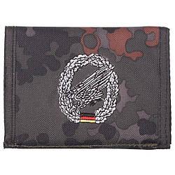 Гаманець «Бундесвер» флектарн з емблемою «парашутні частини» MFH