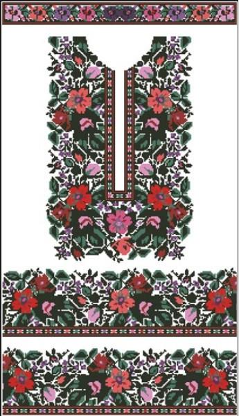Заготовка жіночої вишиванки під бісер (БЖ-091) 35b1e581e7c60
