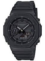 Часы мужские CASIO G-Shock GA-2100 Full Black ( самые тонкие G-Shock 11,8мм )