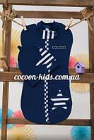 Евро-пеленка COCOON (синяя звездочка)