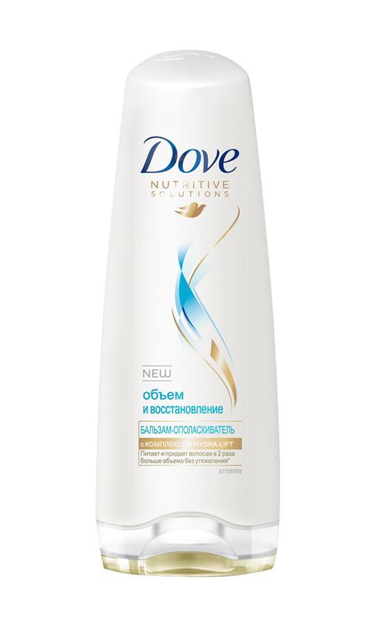 Бальзам-ополаскиватель Dove Hair Therapy Объем и восстановление 200 мл арт.8353