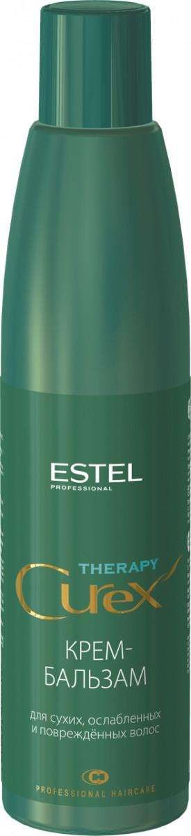 Крем-бальзам для сухих, ослабленных и поврежденных волос Estel CUREX THERAPY 250 мл