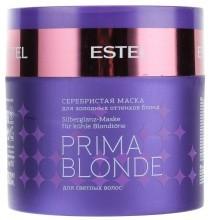 Серебристая маска Estel PRIMA BLONDE для холодных оттенков (блонд) 300 мл