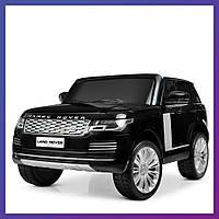 Детский электромобиль Range Rover с пультом Bambi M 4175 EBLR-2 черный | Дитячий електромобіль Бембі чорний