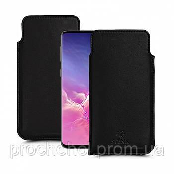 Футляр Stenk Elegance для Samsung Galaxy S10 Чёрный