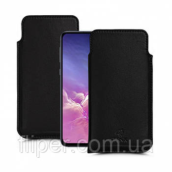 Футляр Stenk Elegance для Samsung Galaxy S10e Чёрный