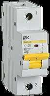 Выключатель автоматический ВА47-150 1Р 100А 15кА C IEK, фото 1