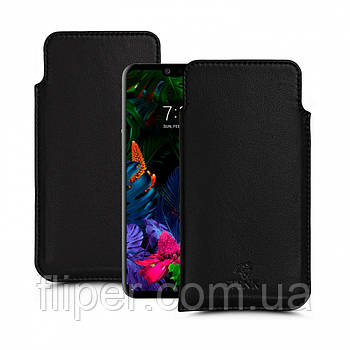 Футляр Stenk Elegance для LG G8 ThinQ Чёрный