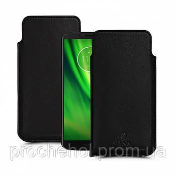 Футляр Stenk Elegance для Motorola Moto G6 Play Чёрный