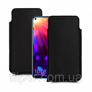 Футляр Stenk Elegance для Huawei Honor View 20 Чёрный