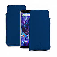 Футляр Stenk Elegance для Nokia 5.1 Plus Синий (63324)
