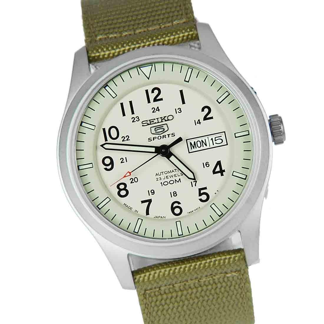 Часы Seiko 5 Military SNZG07J1 Automatic 7S36