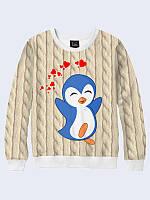 Свитшот Пингвинёнок любовь