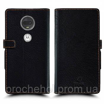 Чехол книжка Stenk Wallet для Motorola Moto G7 Чёрный